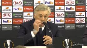 """Napoli, Ancelotti: """"La gara di ritorno sarà complicata"""""""