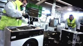 Il percorso di riciclaggio che seguono i vecchi elettrodomestici