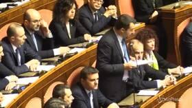 """Caso Diciotti, Salvini: """"Non lascerò mai morire nessuno in mare"""""""