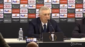 """Napoli, Ancelotti: """"Grande dispiacere ma la rosa è di qualità e la miglioreremo"""""""