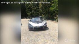 Cristiano Ronaldo presenta la sua nuova auto: vale un milione di euro