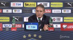"""Nazionale, Mancini soddisfatto: """"Io ci credevo, bravi a non perdere la serenità"""""""