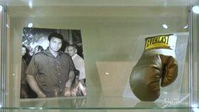 Bolaffi, all'asta il guantone autografato di Muhammad Ali: invenduto