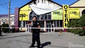 Ucraina, incendio in un hotel a Kiev: 8 morti e 10 feriti