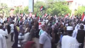 """Sudan, firmata """"dichiarazione costituzionale"""": popolazione in festa"""