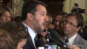 """Salvini: """"Gli insulti di Conte sono agli italiani, non a me"""""""