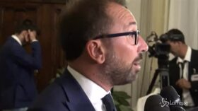 """Bonafede: """"Salvini vuole distrarre l'attenzione dei cittadini italiani, non possiamo assecondarlo in questo delirio"""""""