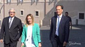 """Crisi Governo, Meloni: """"Al voto subito"""""""