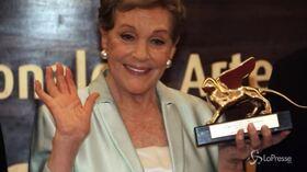 Festival Cinema Venezia: Julie Andrews Leone d'oro alla carriera