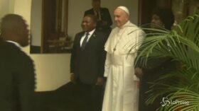 Mozambico, il Papa incontra il presidente del Paese africano