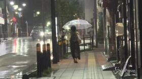 Tifone a Tokyo: un morto e 30 feriti
