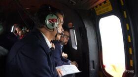 Sanchez sorvola le aree colpite dalle inondazioni in Spagna