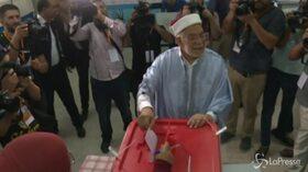 Presidenziali in Tunsia, il candidato Abdelfattah Mourou al seggio