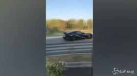 Si schianta con la sua Ferrari, rampollo distrugge un'auto da 300 mila euro