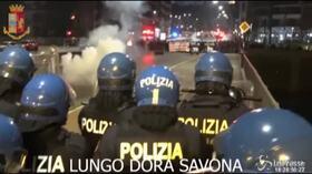 Scontri del 9 febbraio, blitz contro gli anarchici a Torino: 14 arresti