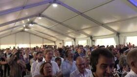 """Orban ospite ad Atreju, il pubblico intona """"Avanti ragazzi di Buda"""""""