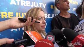 """Meloni: """"Ingerenza Orban? No, ha fatto una fotografia della realtà italiana"""""""