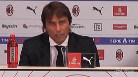 """Derby, Conte: """"Noi più bravi, io il primo tifoso dell'Inter"""""""