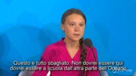 """Summit Onu sul clima, Greta Thunberg: """"Avete rubato i miei sogni"""""""
