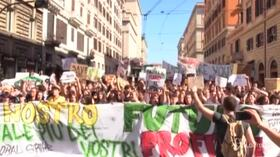 Fridays For Future, Roma invasa da 200mila studenti