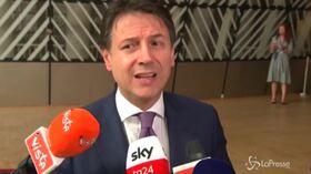 """Da Bruxelles Conte difende la Manovra: """"Nessun aumento delle tasse"""""""