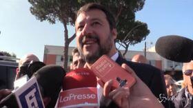 Roma, ingresso negato a Salvini alla discarica di Rocca Cencia