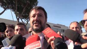 """Roma, Salvini: """"Responsabilità rifiuti Comune e Regione, Raggi torni a fare avvocato"""""""