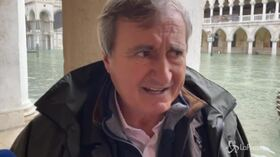 """Venezia, Brugnaro: """"Danni inestimabili, almeno un miliardo"""""""