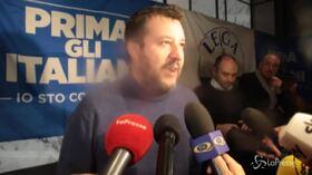 """Salvini alla piazza delle """"Sardine"""": """"Sono persone contro, non hanno proposte. Hanno l'ossessione per me"""""""