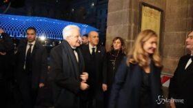 Prima della Scala a Milano: l'arrivo degli ospiti vip, da Mattarella a Segre