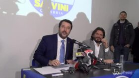 """Salvini: """"Tutti i voli di Stato usati per motivi istituzionali, non per andare in vacanza"""""""