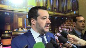 "Coronavirus, Salvini: ""Il governo rassicuri oggi stesso"""
